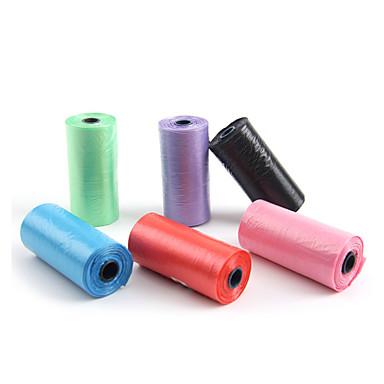 olcso Kutya Tartás és ápolás-Takarítás Divat Szeretetreméltő Műanyag Zöld Kék Rózsaszín