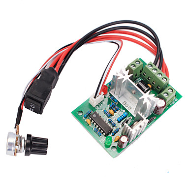 povoljno Arduino oprema-120W PWM unazad prekidač dc brzina upravljač motora naprijed / natrag