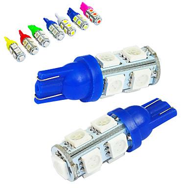 voordelige Autokoplampen-JIAWEN 10 stuks T10 Automatisch Lampen 1.2W SMD 5050 85lm Achterlicht / Sierlamp / Werklamp
