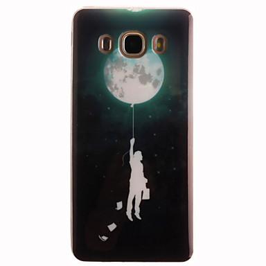 povoljno Maske za mobitele-Θήκη Za Samsung Galaxy J7 (2016) / J5 (2016) / J5 IMD Stražnja maska Crtani film Mekano TPU