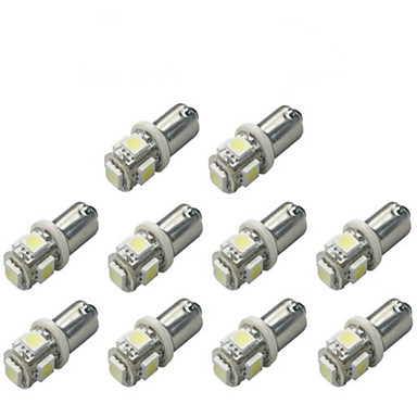 Недорогие Освещение салона авто-10 шт. BA9S Автомобиль Лампы 1 W SMD 5050 120 lm 5 Светодиодная лампа Лампа поворотного сигнала For Универсальный