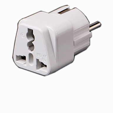 olcso Tápegységek & tápkábelek-Kiváló minőségű univerzális EU Plug Adaptor