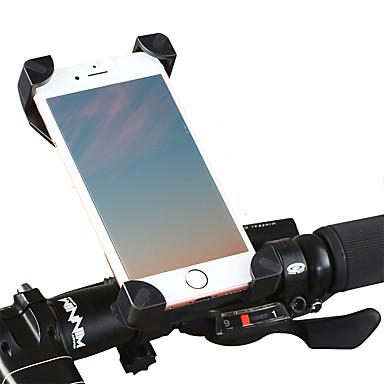 olcso Tartók-Telefon tartó Állítható Könnyű 360 fokos forgás mert Treking bicikli Mountain bike BMX ABS PVC iPhone X iPhone XS iPhone XR Kerékpározás Fekete Fekete / vörös 1 pcs / Ergonomikus