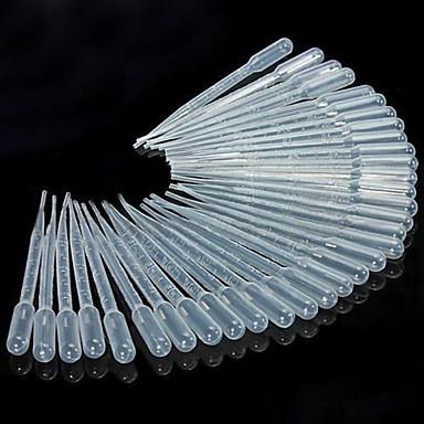 50pcs 3ml pipettes kapaljke tekuće kapaljke za oči paster za laboratorijsku kuhinju