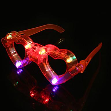 رخيصةأون أضواء LED العصرية-1PC KTV الحفل الملونة نظارات متوهجة الهدايا britbday خلاقة في اليوم بقيادة مصباح ضوء الليل ضوء الديكور
