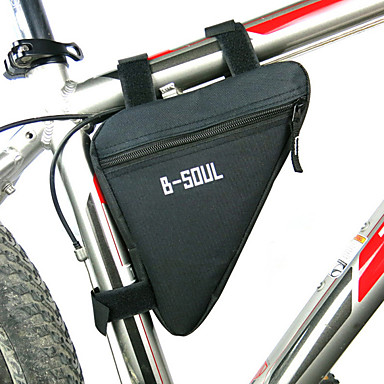 Qii lu Bike Bag,600D Waterproof Oxford Fabric Bike Waterproof Rear Storage Bag Bicycle Back RackPouches with Zipper for Cycling Accessory