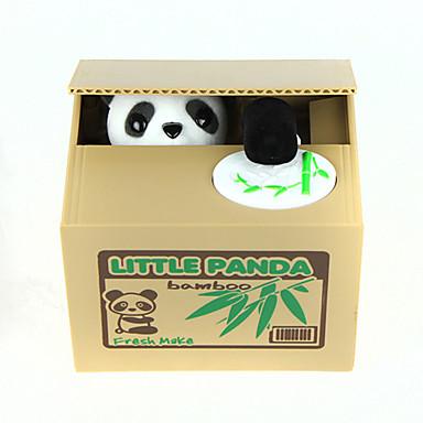 olcso Társasjátékok-Itazura Persely Lopás Coin Bank Cuki Elektromos Panda Műanyag Felnőttek Fiú Lány Játékok Ajándék