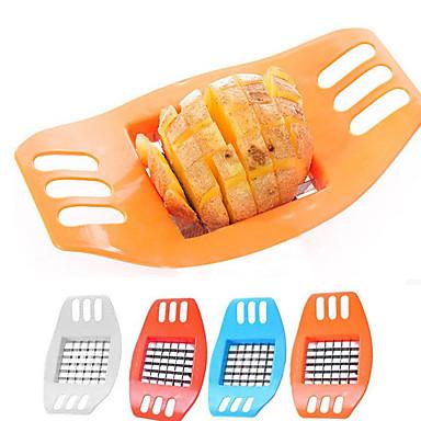 olcso Gyümölcs-, zöldségvágó eszközök-Rozsdamentes acél Jó minőség Növényi Cutter & Slicer