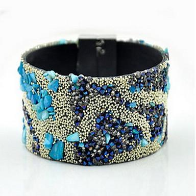 ieftine Brățări-Pentru femei Brățări cu Talismane Bratari Wrap Ciucure Boem Prietenie Modă Material Textil Bijuterii brățară Albastru Pentru Zilnic Casual