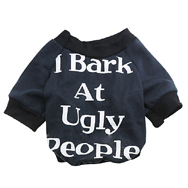 رخيصةأون ملابس وإكسسوارات الكلاب-قط كلب T-skjorte ملابس الكلاب متنفس أسود أحمر كوستيوم قطن الأزهار النباتية موضة XS S M L XL XXL