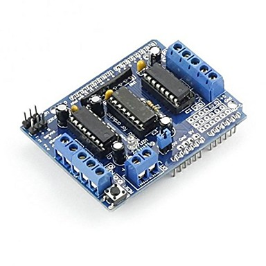 cheap Arduino Accessories-L293D Motor Drive Shield For Arduino Duemilanove Mega UNO R3 AVR ATMEL