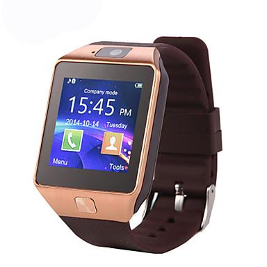 رخيصةأون ساعات ذكية-سمارت ووتش DZ09 إلى Android رمادي داكن / إسبات الطويل / مكالمات بدون يد / شاشة لمس / كاميرا المشي / تذكرة بالاتصال / متتبع النشاط / متتبع النوم / تذكير المستقرة / 0.3 MP / ساعة منبهة / 64MB