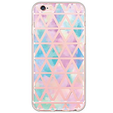 voordelige iPhone-hoesjes-hoesje Voor Apple iPhone X / iPhone 8 Plus / iPhone 8 Ultradun / Doorzichtig Achterkant Tegel Zacht TPU