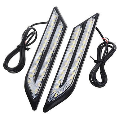 voordelige Autolampen-exLED 2pcs Automatisch Lampen 24 W SMD 5630 500 lm 66 LED Dagrijverlichting Voor