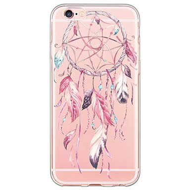 the iphone 6s catcher pattern tpu ultra thin translucent soft back 13094