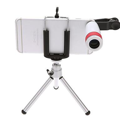 olcso Háromlábú mobiltelefon állványok és tartozékok-mobiltelefon teleszkóp 8-szor a kültéri vizuális éjjellátó távcső állvány univerzális csipesz