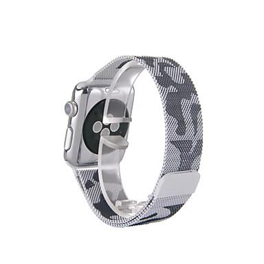 זול רצועות לApple Watch-צפו בנד ל סדרת Apple Watch 5/4/3/2/1 Apple לולאה בסגנון מילאנו מתכת אל חלד רצועת יד לספורט