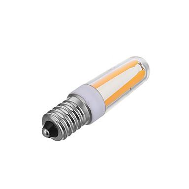 1pc 4 W LED filament žarulje 200-300 lm E14 T 4 LED zrnca COB Zatamnjen Ukrasno Toplo bijelo Hladno bijelo 220-240 V / 1 kom. / RoHs