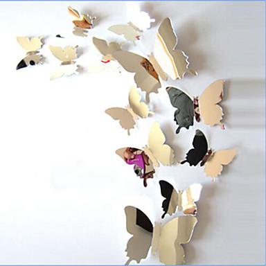حيوانات ملصقات الحائط ملصقات الحائط على المرآة لواصق حائط مزخرفة, الفينيل تصميم ديكور المنزل جدار مائي جدار