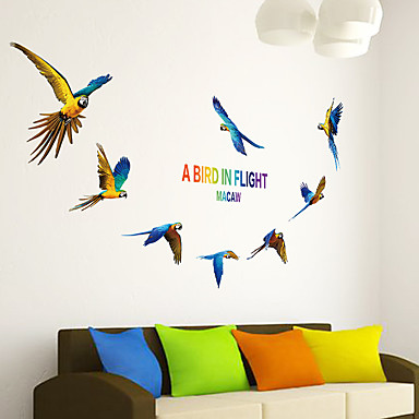 Decorative Wall Stickers   Plane Wall Stickers Animals Living Room /  Bedroom / Boys Room /