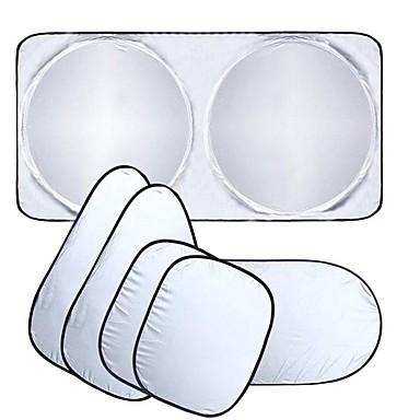 preiswerte Augenschutz-autofenster sonnenschutz auto windschutzscheibe visier abdeckblock frontscheibe sonnenschutz uv schützen autofensterfolie 6 teile / satz