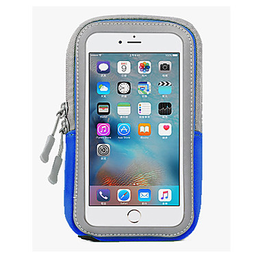 voordelige iPhone 6 hoesjes-hoesje Voor Apple iPhone 6s Plus / iPhone 6s / iPhone 6 Plus Waterbestendig Armband Effen Zacht PC