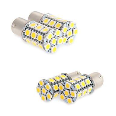 ieftine Becuri De Mașină LED-BA15S(1156) / 1156 Mașină 6 W SMD 5050 6000 k Lumini de frânare / Lumini mers înapoi