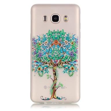voordelige Galaxy J-serie hoesjes / covers-hoesje Voor Samsung Galaxy J7 (2016) / J5 (2016) / J3 Glow in the dark / Transparant Achterkant Boom Zacht TPU