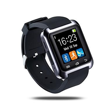 رخيصةأون ساعات ذكية-سمارت ووتش إلى iOS / Android إسبات الطويل / مكالمات بدون يد / شاشة لمس / لون القهوة / عداد الخطى متتبع النشاط / متتبع النوم / تذكير المستقرة / أجد هاتفي / ممارسة تذكير / 64MB / حساس الجاذبية