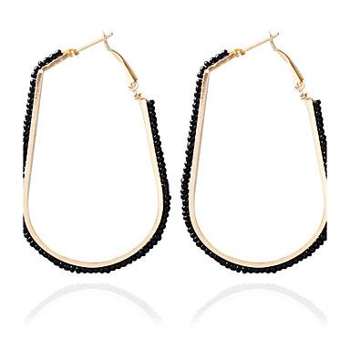 olcso Karika fülbevalók-Női Francia kapcsos fülbevalók Divat Fülbevaló Ékszerek Kék / Rózsaszín / Szivárvány Kompatibilitás Esküvő