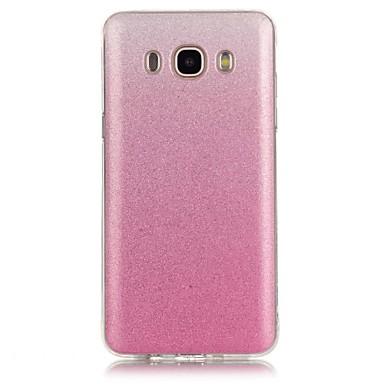 voordelige Galaxy J-serie hoesjes / covers-hoesje Voor Samsung Galaxy J7 (2016) / J7 / J5 (2016) Patroon Achterkant Kleurgradatie Zacht TPU