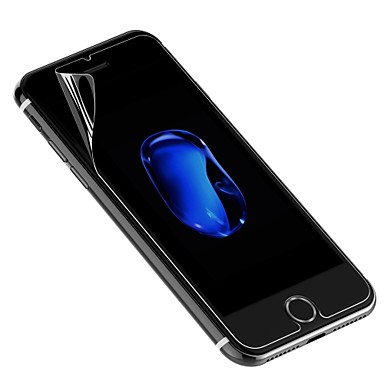 voordelige iPhone 7 screenprotectors-Screenprotector voor Apple iPhone 7 PET 1 stuks Voorkant screenprotector