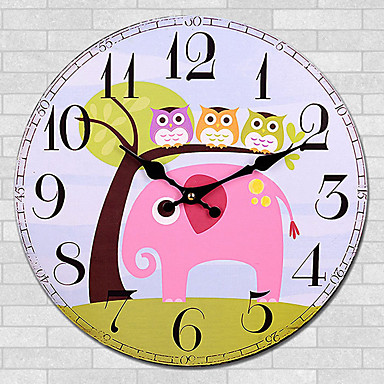 8ad61ded9 الحديثة / المعاصرة أخرى ساعة الحائط,دائري أخرى 30*30cm*3cm داخلي ساعة ...