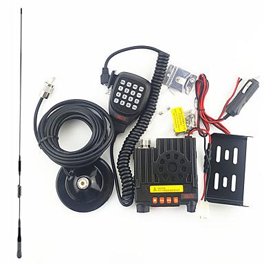olcso Walkie Talkies-365 365 K-303 Járműre szerelt Vészriasztás / Alacsony Akkufeszültség Figyelmeztetés / Programozható PC szoftver >10KM >10KM Kézi adóvevő Két Way Radio