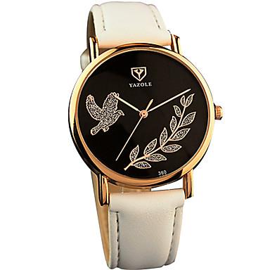 watchyazole womenu0027s quartz casual fashion watch simple free bird leaf classical round dial watch cool watch unique watch u2013 899