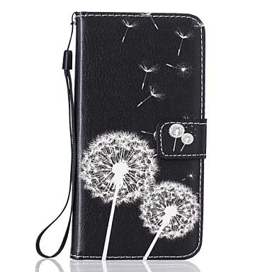 رخيصةأون حافظات / جرابات هواتف جالكسي S-غطاء من أجل Samsung Galaxy S7 edge / S7 / S6 محفظة / حامل البطاقات / مع حامل غطاء كامل للجسم الهندباء قاسي جلد PU