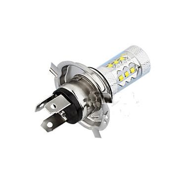 رخيصةأون LED وإضاءة-2 قطع h4 led سيارة ضوء لمبات 80 واط 12 فولت مصباح الضباب smd led 1200lm led كشافات السوبر مشرق h4 ل العالمي