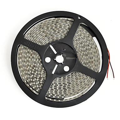رخيصةأون شرائط ضوء مرنة LED-شرائط ضوئية مرنة بطول 5 أمتار 600 مصباح 3528 smd 8mm أبيض دافئ / أبيض / أحمر cuttable / ماء / قابل للربط 12 فولت / ip65 / مناسب للمركبات / ذاتية اللصق