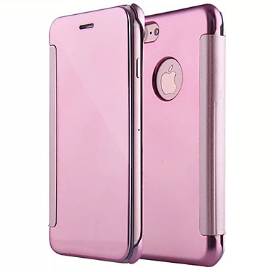 Coque pour apple iphone x iphone 8 miroir clapet coque for Application miroir iphone