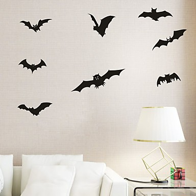 Aya Diy Wall Stickers Decals Decoration Bats Type Pvc Panel 54 63cm 5242867 2019 8 39
