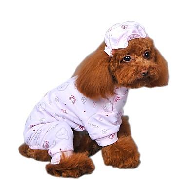 47c0d164798 Γάτα Σκύλος Φόρμες Πυτζάμες Ρούχα για σκύλους Κινούμενα σχέδια Κίτρινο Μπλε  Ροζ Βαμβάκι Στολές Για Άνοιξη & Χειμώνας Χειμώνας Ανδρικά Γυναικεία  Καθημερινά ...