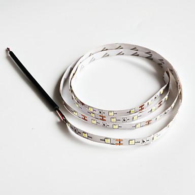 זול LED Süper Satış-SENCART 1pc לבן קר DC מופעל ניתן לחיתוך / מתאים לרכבים / קל לנשיאה 12 V Sivun merkkivalo