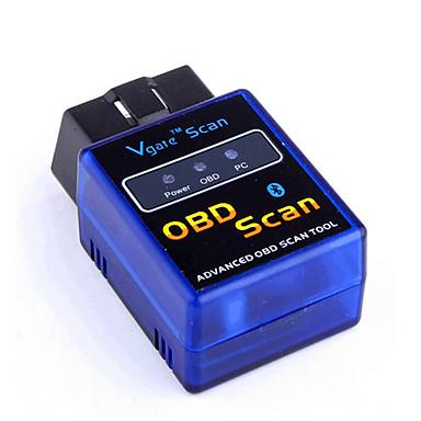 olcso OBD-elm327 bluetooth vgate bluetooth obd-ii obd2 bluetooth jármű érzékelő eszköz v2.1