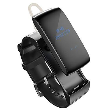 رخيصةأون ساعات ذكية-سوار الذكية iOS Android رصد معدل ضربات القلب مقاوم للماء رمادي داكن العناية الصحية ساعة منبهة إسبات الطويل متعددة الوظائف يمكن ارتداؤها