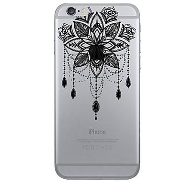 voordelige iPhone 6 hoesjes-hoesje Voor Apple iPhone 7 Plus / iPhone 7 / iPhone 6s Plus Patroon Achterkant Dromenvanger / Bloem Zacht TPU