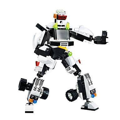 Schwedische Kinderpantoffeln im Roboter Design für Jungen