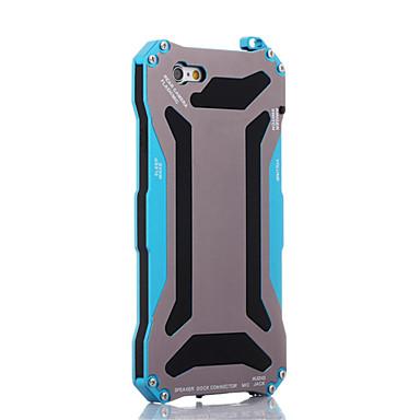 رخيصةأون أغطية أيفون-غطاء من أجل Apple iPhone 7 Plus / iPhone 7 / iPhone 6s Plus ضد الصدمات / ضد الغبار / مقاوم للماء غطاء خلفي درع قاسي معدن
