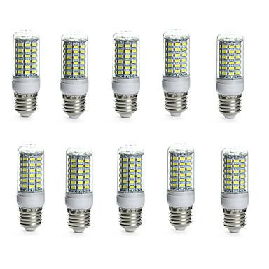 10pcs 10 W LED klipaste žarulje 850-950 lm E14 G9 GU10 Cijev 69 LED zrnca SMD 5730 Vodootporno Ukrasno Toplo bijelo Hladno bijelo 220-240 V 110-130 V / 10 kom. / RoHs