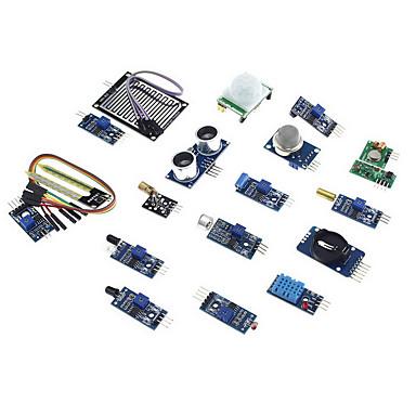 olcso Kijelzők-eicoosi 16 az 1-ben érzékelő modul készlet Raspberry Pi 3b / 2b / b