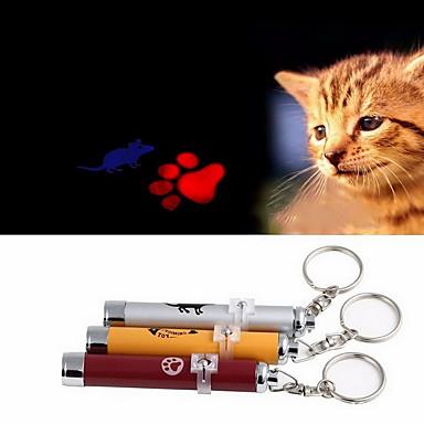 baratos Brinquedos para Cães-Brinquedos de Laser Gato Cachorro Animais de Estimação Brinquedos Electrónico Pegada camundongo Alumínio Dom